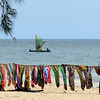Participant Randy Beaton shared this artful photograph of colorful tapestries and the Mozambique Channel.