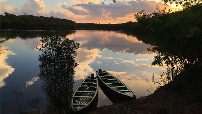 Guide Bret Whitney captured this sunset in remote Jau National Park in Brazil...watch for it on the back of our catalog too, just mailed!