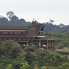 One of our stops along the tour is at Aberdare National Park, in the mountains of central Kenya. The Ark was our lodging, in the heart of the park. Resembling Noah's Ark, this lodge sits near a watering hole that attracts wildlife, including several hundred elephants. Photo by guide Terry Stevenson.