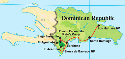 Last stop in the islands: The DR! This eastern part of the island of Hispaniola is rich in endemics, from Los Haitises on the north coast to the mountains in the southwest.