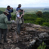 Moving northward in South America let's check in with our Northeast Brazil group atop an outcrop at Peruacu. (Photo by participants David & Judy Smith)