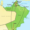 From lush New Zealand to arid Arabia...quite the change of scene! Many people would have trouble finding Oman or the UAE (United Arab Emirates) on a map, but the birds don't! We average about 200 species on this well-established tour to the Arabian Peninsula, and our second (December) offering of the year in 2011 on the itinerary above tallied 10 species of terns, 14 herons, 15 raptors, 35 shorebirds, 7 wheatears, and 12 pipits/wagtails.