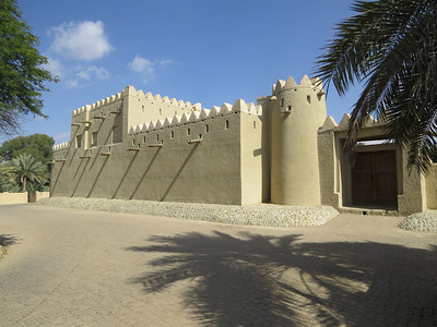 At the Al Ain oasis (Photo by guide Phil Gregory)