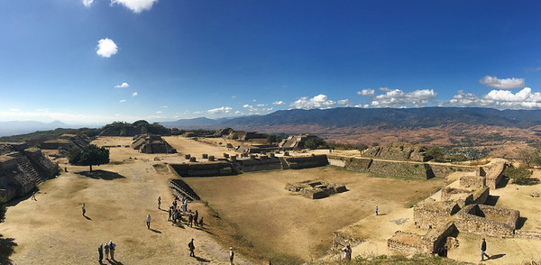 Monte Alban was the center of the Zapotec culture for more than 1000 years but fell into decline circa 500 AD. Photo by guide Doug Gochfeld.