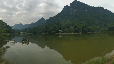 There's lot of sculpted mountain scenery to enjoy along our route through Vietnam. Photo by guide Doug Gochfeld.