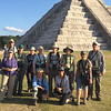 Several fantastic Mayan sites mesh well with our birding. It looks like it was a perfect day for visiting Chichen Itza! Photo by guide Chris Benesh.