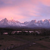 "And as a final image to wrap up this month's gallery, the fabulous scene at Torres del Paine in southernmost Chile bathed in morning pink. We'll see you again next month with more fresh photos from our recent Field Guides tours.  Till then, good birding!  <div id=""caption_tourlink"" align=""right""> [Photo © participant Mike Bowen]</div>"