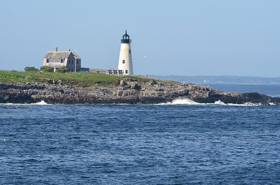 A classic scene along the rocky Maine Coast: Wood Island lighthouse (Photo by participant Bob Reed)