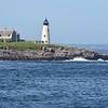 A classic scene along the rocky Maine Coast: Wood Island lighthouse (Photo by participant Bob Reed)