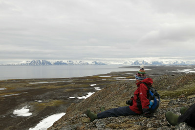 Fugelhuken view: worth the climb! (Photo by participant Alan Abel)