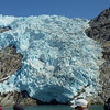 Viewing blue glacier ice in Kenai Fjords (Photo by participant Neil McDonal)