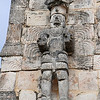 Our Mexico: Yucatan & Cozumel itinerary features stops at several important Mayan sites, where we can enjoy some fantastic archaeological ruins as well as some great birding!  Here, a stone carving at Kabah, by participant Charles Lowe.