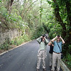Birding the Santo Domingo Botanical Gardens provides a great intro to our first endemics on the Dominican Republic tour. (photo by participant Lori Conrad)