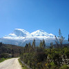 The scenery on the Central Peruvian Endemics tour was simply spectacular -- here's a view heading up the road towards Huascaran National Park... named for this mountain: Huascaran. (photo by guide Dan Lane)