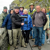Birding with a County Kerry ranger on the Dingle Peninsula--that's guide Terry McEneaney holding the scope. (Photo by guide Karen McEneaney)