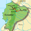 We may as well step right into the rest of Kevin's great pics...here's a map of our route on the Ecuador: Rainforest & Andes tour. This is one of four departures this year, with two still to come in  September.