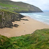 """The tour subtitle is """"Birds, Traditional Music & Pubs"""" and these are each of course key. But we can't help but be distracted along the way by the fabulous Irish scenery and cultural history. Here's Dunquin Beach on the Dingle Peninsula, made famous by the movie """"Ryan's Daughter."""" (Photo by guide Terry McEneaney)"""