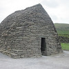 This is Gallarus Oratory--probably the most perfect stone structure in all of Ireland. This dry stone structure has stood for more than 1200 years. Built between the 6th and 9th century, it is the best preserved early Christian church in all of Ireland and yet has never been repaired, which is a testament to the stone masons. (Photo by guide Terry McEneaney)