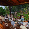 A lovely open-air breakfast at Borneo Rainforest Lodge (Photo by guide Rose Ann Rowlett)