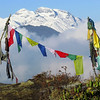 If you're thinking this doesn't look like Spain, indeed you are right! Prayer flags against a mountainous backdrop like this? It must be our recent tour to Bhutan! (Photo by participant Diane Drobka)