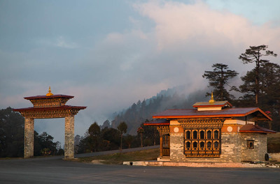 DoChu La pass at 10,000' above the capital of Thimphu (Photo by guide Richard Webster)