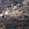 Bill brought back this image of the setting at Jebel Akhdar.