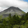 Arenal Volcano is no longer active, but it still made a lovely backdrop to our birding. (Photo by guide Jay VanderGaast)