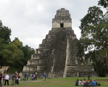 Our visit to magnificent Tikal (where there's great birding, too) is an optional extension on our Guatemala tour. Photo by participant Mary Lou Barritt.