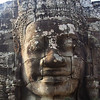 The Bayon temple at Angkor Wat is justly famous for its huge stone faces. (Photo by guide Phil Gregory)