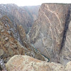 At 2,250 feet, the Painted Wall in Black Canyon of the Gunnison National Park is Colorado's tallest cliff face. (Photo by guide Megan Crewe)
