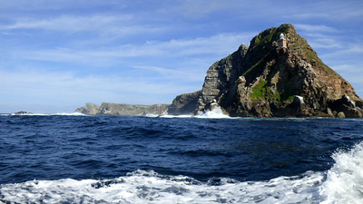This dramatic seascape is Cape Point at Cape of Good Hope. Photo by participant Cathy Douglas.