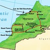 Our Morocco tour route, from Casablanca to Marrakech and the High Atlas to the Sahara.
