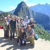 Group picture time for the first of our two 2012 Machu Picchu & Abra Malaga groups -- not a bad setting! That's guide Jesse Fagan at front right. (Photo by participant Bill Denton)