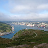 Harbor view of St. John's, Newfoundland -- what a lovely and protected setting for a great city! (Photo by guide Chris Benesh)