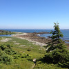 Louisburg Harbor, a fine example of the lovely, rocky Nova Scotia coastline (Photo by guide Chris Benesh)