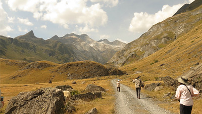 The picturesque Pyrenees are the setting for the second half of the tour. (Photo by participant Mary Deutsche)