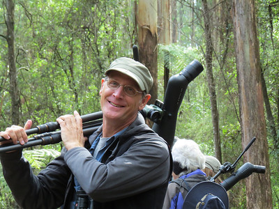 """Guide Chris Benesh has been heading to """"Oz"""" for two decades, and he still gets as excited as the first time -- Australia is just that awesome. (Photo by participant Deb Finch)"""