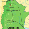 Our NW Argentina itinerary first visits the Cordoba area, then heads northward to various key stops in the northwesternmost corner of the country.