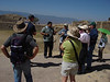 "Guide Jorge gives us some history of Monte Alban.<div id=""caption_tourlink"" align=""right"">[photo © guide Dan Lane]</div>"
