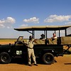 "And in a final image from Kenya, part of our group is ready to head out in the safari vehicle (that's Daphne in the back seat)...<div id=""caption_tourlink"" align=""right""> [Photo © participant Daphne Gemmill]</div>"