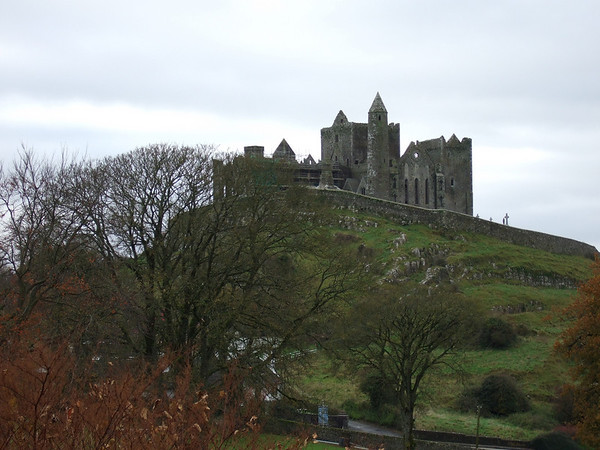 """Rock of Cashel, one or Ireland's spectacular landmarks and the site of royal religious conversions as well as coronations, along with a history reaching back at least to the 4th century A.D.; photographed by participant Anne Bergstrom. <div id=""""caption_tourlink"""" align=""""right""""><a id=""""caption_tourlink"""" href=""""http://www.fieldguides.com/tours.html?area=tour&code=ire"""" target=""""_blank"""">More about this tour...</a></div>"""