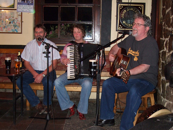 "And of course, a little evening music to share: local musicians Christy McNeil and Caroline King join co-leader Eugene Byrne, right, in a session. <div id=""caption_tourlink"" align=""right""><a id=""caption_tourlink"" href=""http://www.fieldguides.com/tours.html?area=tour&code=ire"" target=""_blank"">More about this tour...</a></div>"