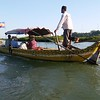 One of our craft on the Mekong River. Photo by participant Claire Moore.