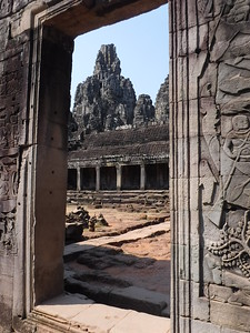 A view of the ruins at Angkor Wat by participant Claire Moore.