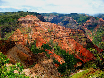 To close our our June selection, this striking image of Waimea Canyon, Kauai, the last of participant Linda Nuttall's enticing pics.  We'll post another set of recent tour photos with next month's emailing!Link to: HAWAII[photo © Linda J. Nuttall]