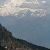 """One of the features of mountainous Bhutan is, of course, the backdrop of the Himalayas.  Here's Jholmahari Peak, one of Bhutan's highest mountains, in an image from guide Richard Webster.<div id=""""caption_tourlink"""" align=""""right"""">Link to: <a id=""""caption_tourlink"""" href=""""http://www.fieldguides.com/bhutan.htm"""" target=""""_blank"""">BHUTAN</a><br>[photo © Richard Webster]</div>"""