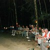 "Our 2008 Thailand group celebrating a fabulous day of birding in Kaeng Krachan NP with a candlelight dinner.<div id=""caption_tourlink"" align=""right"">Link to: <a id=""caption_tourlink"" href=""http://www.fieldguides.com/thailand.htm"" target=""_blank"">THAILAND</a><br>[photo © Rose Ann Rowlett]</div>"