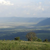 This landscape shot provides some perspective on the world famous microcosm that is Ngorongoro Crater. Photo by guide Terry Stevenson.