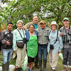 Several members of the now famous Paz family at their refuge joined us for a group photo. Photo by participant Elena Laborde.