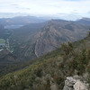 """A view of the dramatic landscape around the town of Halls Gap in Grampians National Park, Victoria, about three hours' drive from Melbourne. <div id=""""caption_tourlink"""" align=""""right""""> [Photo © participant Marshall Dahl]</div>"""